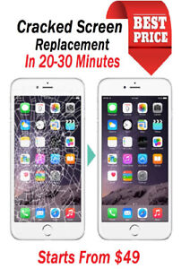 ✅★BROKEN LCD REPAIR IPHONE 6 49$ 6S 59$ ON THE SPOT✅