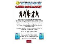 YSB ARTS Summer Dance Academy