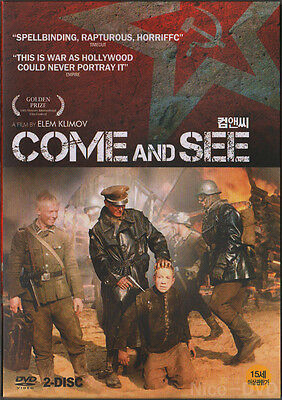 Come and See (1985) UNCUT Special Edition 2-DVD Disc SET!! (New)
