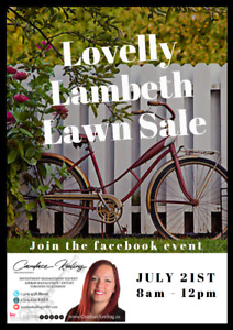 LOVELY LAMBETH LAWN SALE