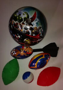 New, Assorted Balls/Footballs
