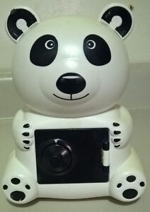 Panda Bear Piggy Bank / Combination Safe