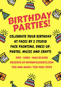 Birthday Party at Faces by 2 Peterborough Peterborough Area image 1
