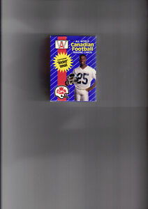 1991 ALL WORLD FOOTBALL CANADIAN CFL SEALED BOX SET ROCKET ISMAI West Island Greater Montréal image 1