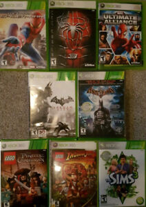 XBOX 360 Super Hero and Kids Games (Various Prices)