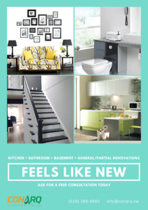 Give your Home a 2nd life. Ask for a free consultation today!