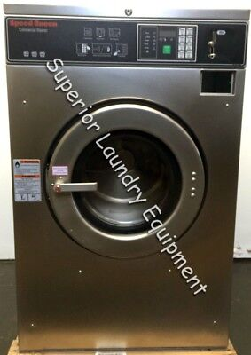 Speed Queen Sc30bc2 Washer-extractor 30lb Coin 220v Reconditioned