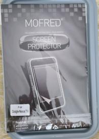 Google Nexus 7 Screen protector - new in box.