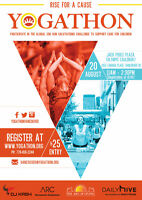 The 5th Annual Yogathon is coming to Vancouver City, Aug 20th!