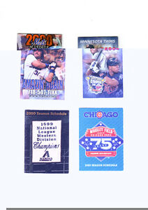 Baseball Schedules (4) Mike Piazza   NRMT