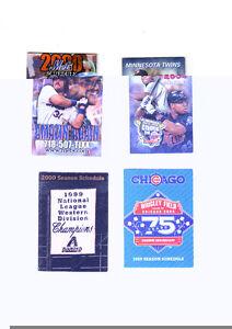 Baseball Schedules (4) Mike Piazza   NRMT