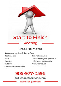 Start to Finish Roofing