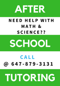 AFFORDABLE HIGH SCHOOL MATH & SCIENCE TUTORING IN BRAMPTON