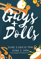Guys and Dolls at Bedford Baptist