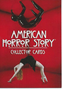 2014 American Horror Story Season 1 Base Card Set (72 cards)