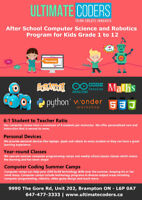 Computer Science for grade 1 - 12