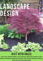 Brampton Landscaping & Cleanups, Concrete, Sod Install, Leveling