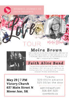 Women's Journey of Faith Tour with Moira Brown in Moose Jaw