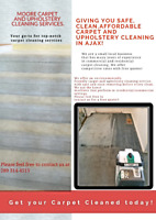 Carpet and Upholstery cleaning services!