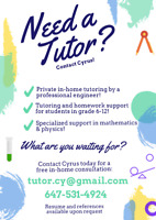 Math Tutor! Alliston, Ontario