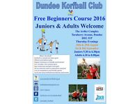 Korfball 2016 Free Beginners Course!