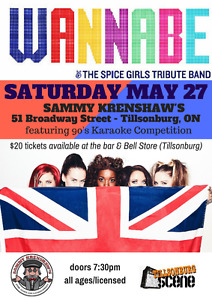 Spice Girls Tribute Concert in Tillsonburg