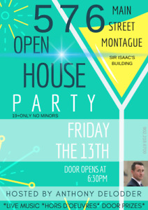 EVENT NIGHT: MONTAGUE FRIDAY THE 13th
