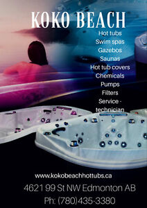 Hot tub needs to be fixed? Call for a Service Technician