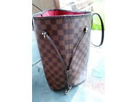 Used Louis Vuitton Neverfull MM (Well Used)