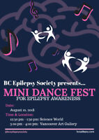 BC Epilepsy Society's Mini Dance Fest