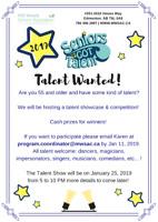 Seniors Got Talent 2019 Contestants Wanted! Cash Prizes!