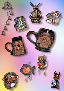 Handcrafted ceramic souvenirs from Europe