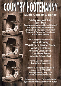 Country Hootenanny - Concert & Dance