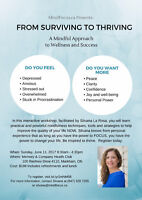 From Surviving to Thriving - Interactive Workshop