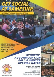 STUDENT HOUSING SPECIAL