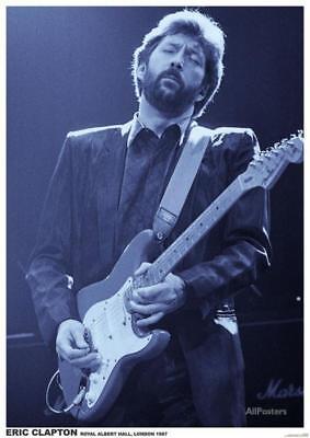 Eric Clapton- Royal Albert Hall, London 1987 Poster - 23x33