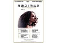 Rebecca Ferguson lady sings the blues Manchester tickets x2