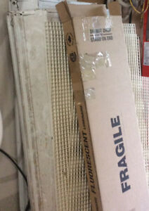48 inch  4 tube Fluorescent Ceiling Fixture