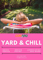 Yard & Chill : make this summer one to remember!