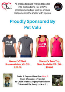 Fur Mama T-Shirt & Tank in support of the SPCA