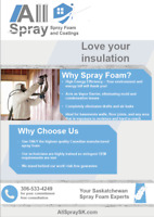 Certified Spray Foam Insulation