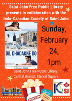 FREE MOVIE SHOWINGS, Saint John Free Public Library