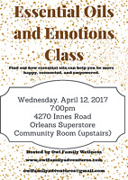Essential Oils and Emotions Class