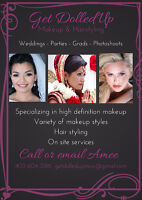 MAKEUP and HAIR for a very REASONABLE price!