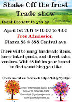second Annual Shake off the frost Spring trade show