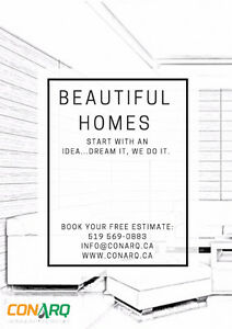 Beautiful Homes start with an Idea: Dream it, We do it. Cambridge Kitchener Area image 1