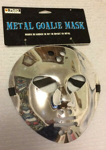 New Silver Goalie or Tin-Man Mask