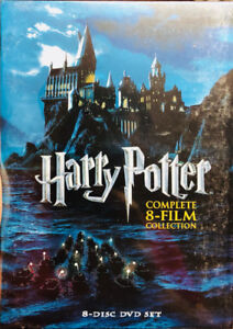 Harry Potter 8 Movies Collection DVD -Sealed Box (Free Delivery)