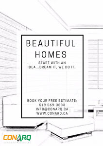 Beautiful Homes start with an Idea: Dream it, We do it. Stratford Kitchener Area image 1
