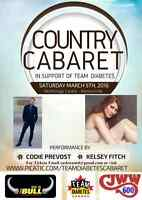 Country Cabaret in Support of the Canadian Diabetes Association